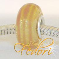 Style Bead Golden Glitter