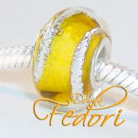 Style Bead Golden Silver Line