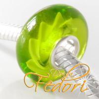 Style Bead Green Fire Lightning
