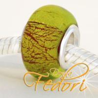 Style Bead Green Lightning