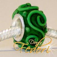 Style Bead Green Ornament
