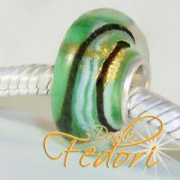 Style Bead Green Stardust
