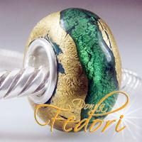 Style Bead Grüner Goldschatz