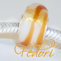 Style Bead Orange Stardust