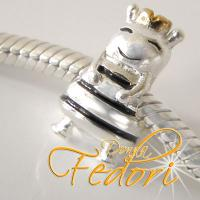 Style Bead Queen Bee 925 Sterling Silber
