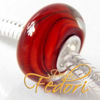 Style Bead Red Whirl