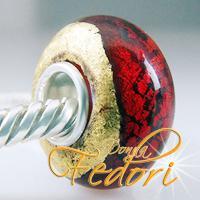 Style Bead Roter Goldschatz