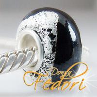 Style Bead Schwarzer Silberschatz