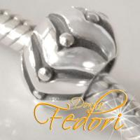 Style Bead Solida 925 Sterling Silber