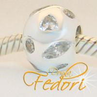 Style Bead Starfever 925 Sterling Silber, Zirkonia