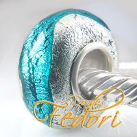 Style Bead T�rkisblauer Silberschatz