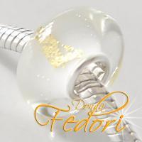 Style Bead White Goldglow