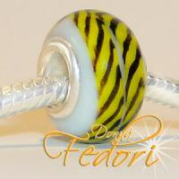 Style Bead Yellow Stripes