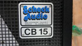 Foto 2 Suche! Scheck Audio cb 15 oder cb 16 Pa Boxen, nur von Scheck Audio!