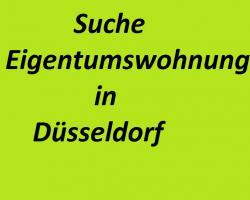 Suche Wohnung zum Kauf in Düsseldorf von Privat