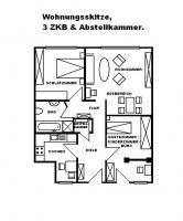 Suche dringend Nachmieter f�r Wund. -sch�ne ! ! ! P R O V I S I O N S F R E I E ! ! ! 3ZKB Wohnung! !
