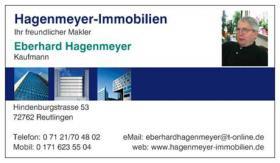 Suchen Bauplätze in Bestlage von Tübingen und Umgebung