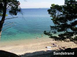 Süddalmatien OREBIC Sandstrand Ferienwohnung