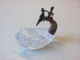 Foto 2 Süßstoffschale m. Meerjungfrau