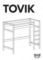 super ikea tovik hochbett m x m mit matratze lattenrost in flensburg von privat. Black Bedroom Furniture Sets. Home Design Ideas