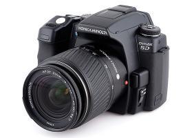Super Paket: Digitale Spiegelreflexkamera Konika Minolta Dynax 5D
