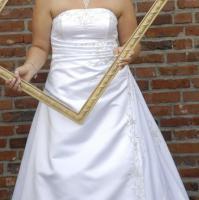 Foto 2 Super schönes elegantes Brautkleid