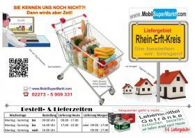 Foto 2 Supermarkt  mit Lieferservice für den Raum RHEIN-ERFT-KREIS!