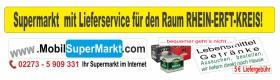 Foto 3 Supermarkt  mit Lieferservice für den Raum RHEIN-ERFT-KREIS!