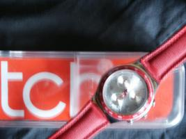 Foto 2 Swatch Chronograph in Rot