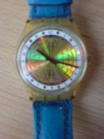 Foto 3 Swatch Uhren mit Lederarmband zu verkaufen