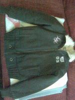Sweatshirtjacke in Gr��e S