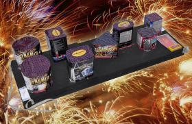 Systemfeuerwerk Komplettfeuerwerk - Feuerwerk Junior Box