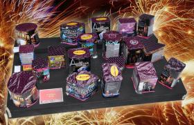 Systemfeuerwerk Komplettfeuerwerk - Feuerwerk Profi Box