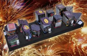 Systemfeuerwerk Komplettfeuerwerk - Feuerwerk Star Box