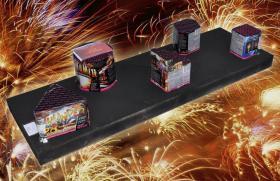 Systemfeuerwerk Komplettfeuerwerk - Feuerwerk Starter Box