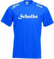 T ShirtBlau Weiß Schalke