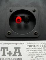Foto 4 T&A TRITON S130 Standlautsprecher in schwarz, GUTER ZUSTAND, deutscher Spitzenklasse-Hersteller