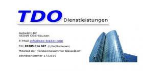 TDO Dienstleistungen - Gebäudereinigung - Winterdienst - Entsorgung