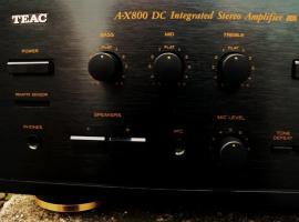 Foto 3 TEAC Vollverst�rker A-X 800 DC & unbenut. Fernbedienung, TOPZUSTAND, ehem. Top-Modell von TEAC,