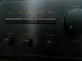 Foto 4 TEAC Vollverstärker A-X 800 DC & unbenut. Fernbedienung, TOPZUSTAND, ehem. Top-Modell von TEAC,