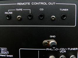Foto 7 TEAC Vollverst�rker A-X 800 DC & unbenut. Fernbedienung, TOPZUSTAND, ehem. Top-Modell von TEAC,