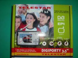 TFT LCD TV Tragbarer DVB-T Empfänger 3,5'' neu unbenutzt