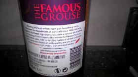 Foto 4 THE FAMOUS GROUSE 1 liter blended scotch whisky