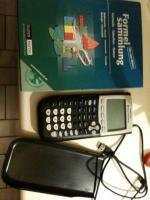 TI-84 Grafikrechner + Formelsammlung+ Usb Kabel
