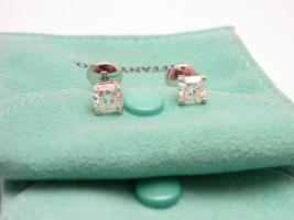 Foto 5 TIFFANY & CO LUCIDA Ohrstecker Platin Diamant