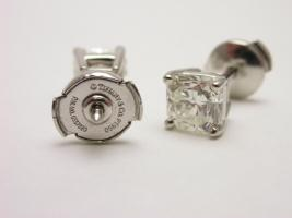 Foto 6 TIFFANY & CO LUCIDA Ohrstecker Platin Diamant