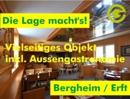 TOP-Gastroobjekt in optimaler Verkehrslage, Bergheim/Erft