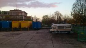TOP - Stellplatz für Wohnmobil, Auto, Boot, umzäunt, betoniert !