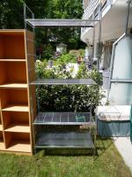 Foto 3 !!! TOP - Tolle Regale 1xchrom und 2x Holz  - TOP