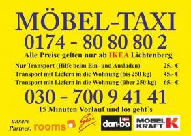 Foto 2 TRANSPORTE BERLIN MÖBEL TAXI  SCHNELL-SAUBER-GÜNSTIG